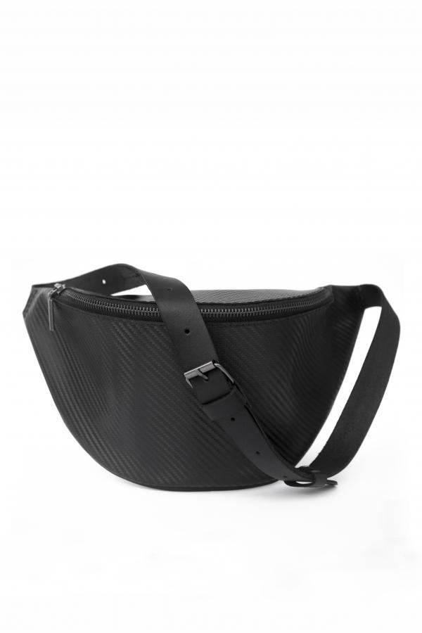 Поясная сумка Рея 2 (черный карбон)